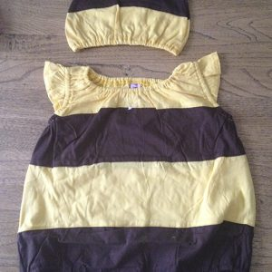 Bee Romper suit, front
