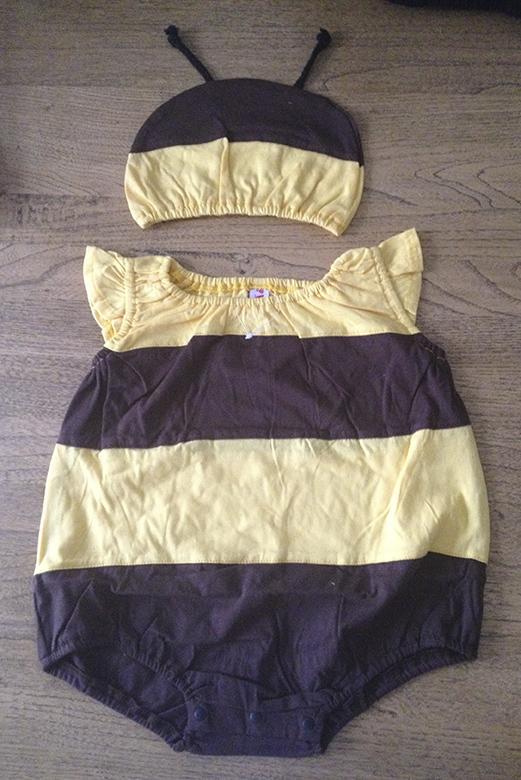 Bee Romper suit, front