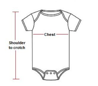 diagram of suit showing measurement, shoulder to crutch